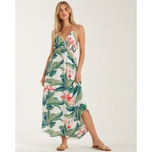 Billabong Tropical Floral Summer Dress